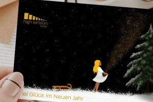 Glückwunschkarte, Illustration. Grafikdesign / Digital Art, Werbung von High Tension Design aus Halle (saale)