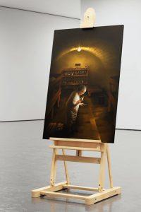 Clash of times-Wandbild. Digital Art, Fotomontage, Digital Painting, Illustration von High Tension Design aus Halle (Saale).