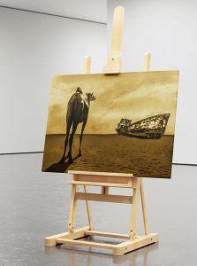 Aral sea   Aralsee. Digital Art, Fotomontage, Digital Painting, Illustration von High Tension Design aus Halle (Saale) Thomas Dietze